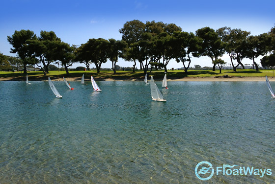 RC Sailboat Racing in San Diego