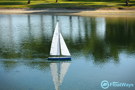 RC Sailboat in San Diego
