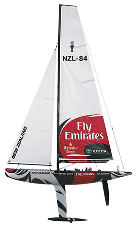 RC Sailboats Americas Cup