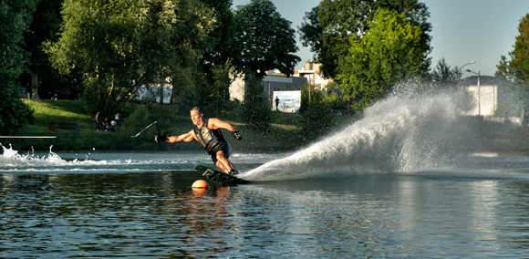 Waterski How to Cross the Wake