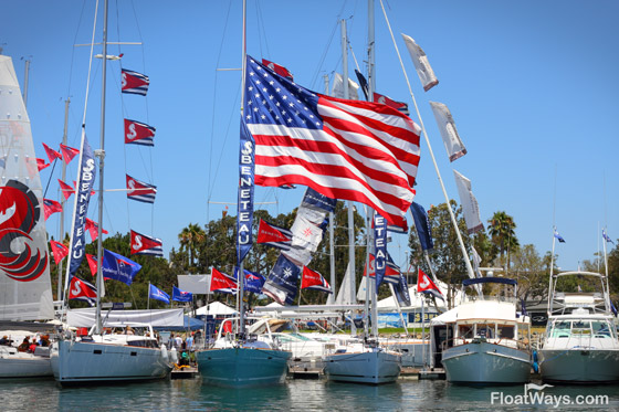 Big American Boat Show Flag
