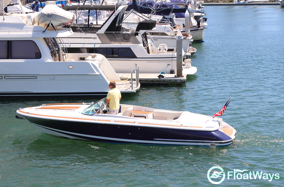 As far as smaller powerboats go, this Chris Craft Corsair has to be one of ...
