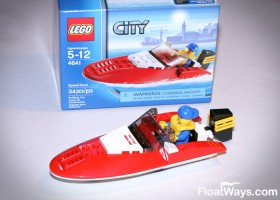 Lego City Boat Box