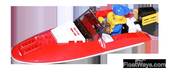 Lego Speed Boat