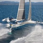 l'Hydroptére Hydrofoil Fast Sailboat
