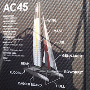 America's Cup World Series San Diego AC45 Catamaran Photos