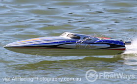 Mono RC Race Boat