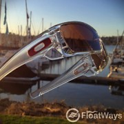 Custom Oakley Batwolf Review with OO Black Iridium Polarized Lens Under Sail