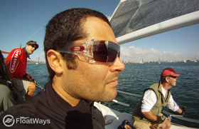 Oakley Batwolf Sailing