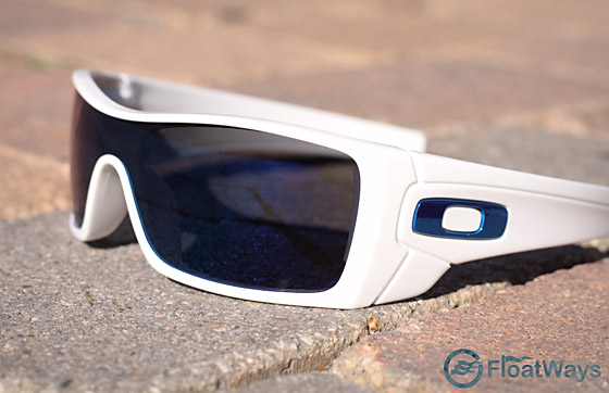 Custom White Ice Iridium Oakley Batwolf