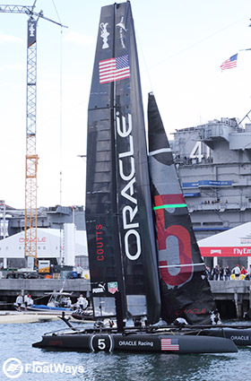 Oracle Racing Boat