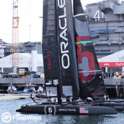34th America's Cup 2013 San Francisco Planning Dilemma