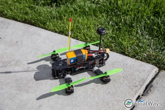 Blackout Mini H Quad Progressing into FPV