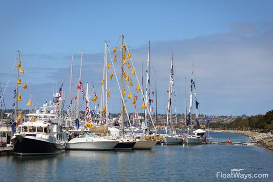 Harbor Island Boat Show View