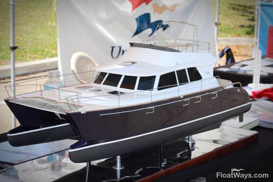 Catamaran Yacht Scale Boat Model