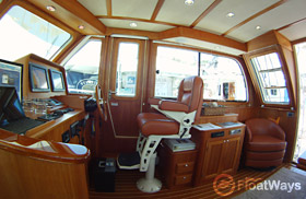 Sabre 40 Yacht Interior