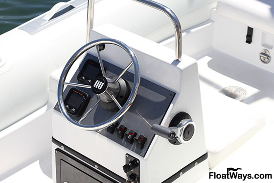 Center Console Boat Steering Wheel