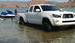 Toyota Tacoma Sea Doo Towing