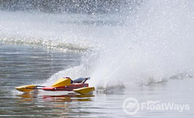 RC Outrigger Hydro
