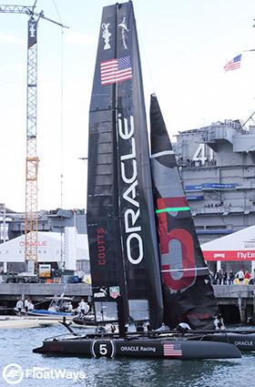 Oracle Racing Boat